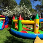 Batuudi rent väikelastele koduaeda hüppama