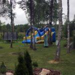 Batuudi rent_liumägi_väikelastele_suurematele lastele_sinine_kollane