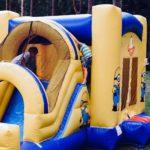 Batuudi rent Minions_liumägi_hüppamine_väikelastele